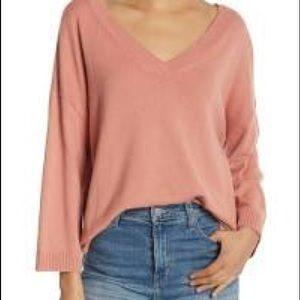 NWT Madewell Double V Pullover Sweater